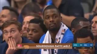 Harrison Barnes Sad That He Gets Traded DURING The Game! Mavericks vs Hornets