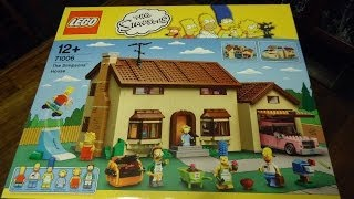 Lego 71006, The Simpsons House. Time Lapse Build
