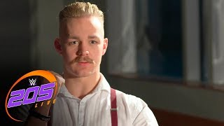 First U.K. Champion Tyler Bate believes he stands above the competition: WWE 205 Live, Jan. 30, 2018