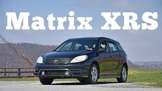 homepage tile video photo for 2003 Toyota Matrix XRS: Regular Car Reviews