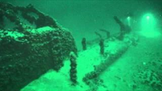 Российская подводная лодка, затопленная в 1918 году