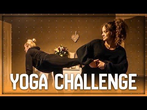 YOGA CHALLENGE with MOM