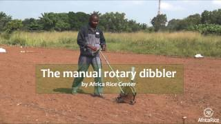 Manual rotary dibbler by AfricaRice