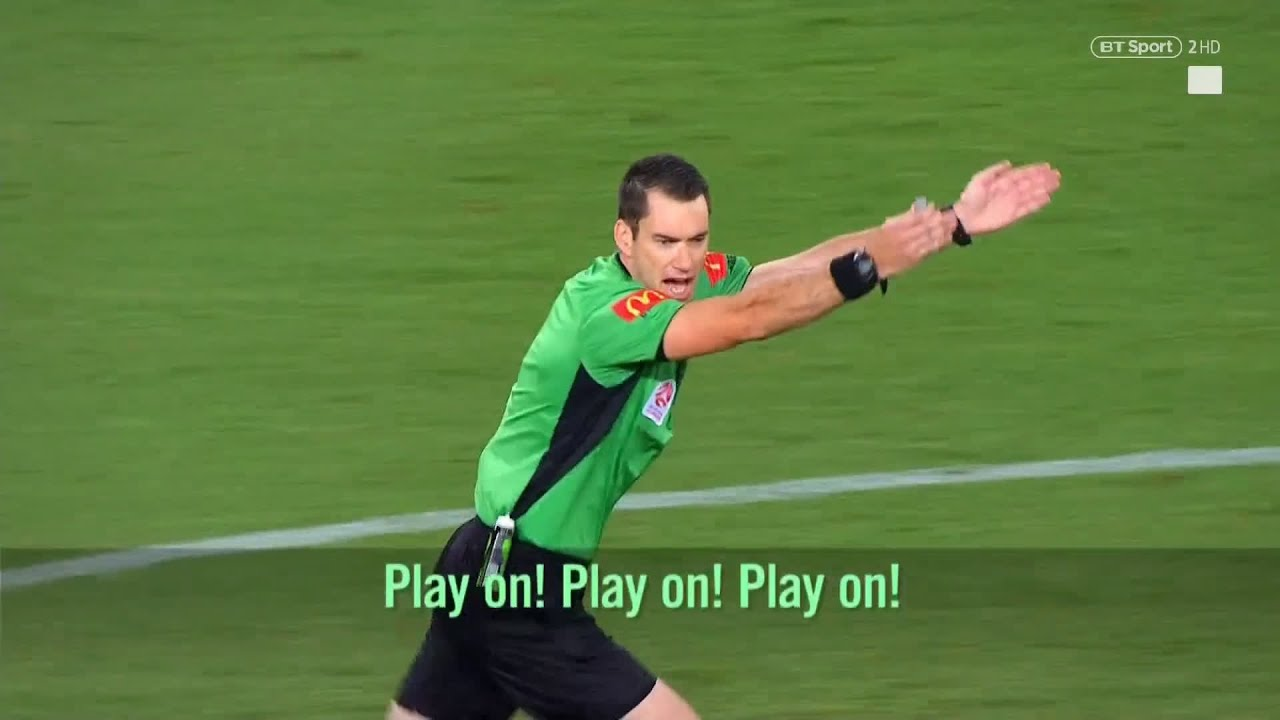 Fascinating! Listen to referee who has live microphone for entire A-League match