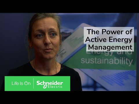 The Power of Active Energy Management | Schneider Electric