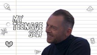 Simon Pegg on meeting his teenage crush - and how they responded (My Teenage Self)