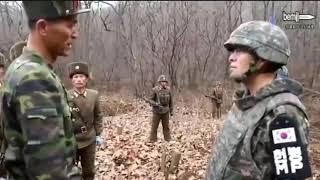 Две Кореи. Две армии. Совок и 21 век.