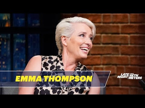 Emma Thompson's Family Threatened to Kick Her Out of Their House