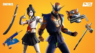 FORTNITE ITEM SHOP UPDATE NEW SKINS COPER NINJA AND CYBORG WARRIOR