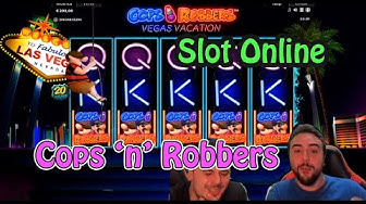 3 games at the Cops 'n' Robbers starting with €300