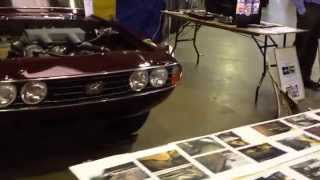 Triumph Stag (June 1970 - LD112) on Silverlink Classics stand at joint SOC & TR National, Harrogate.