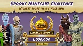 Temple Run 2 World Record 12,866,268 Scores! Temple Run 2 Montague's Marathon Spooky Minecart Event