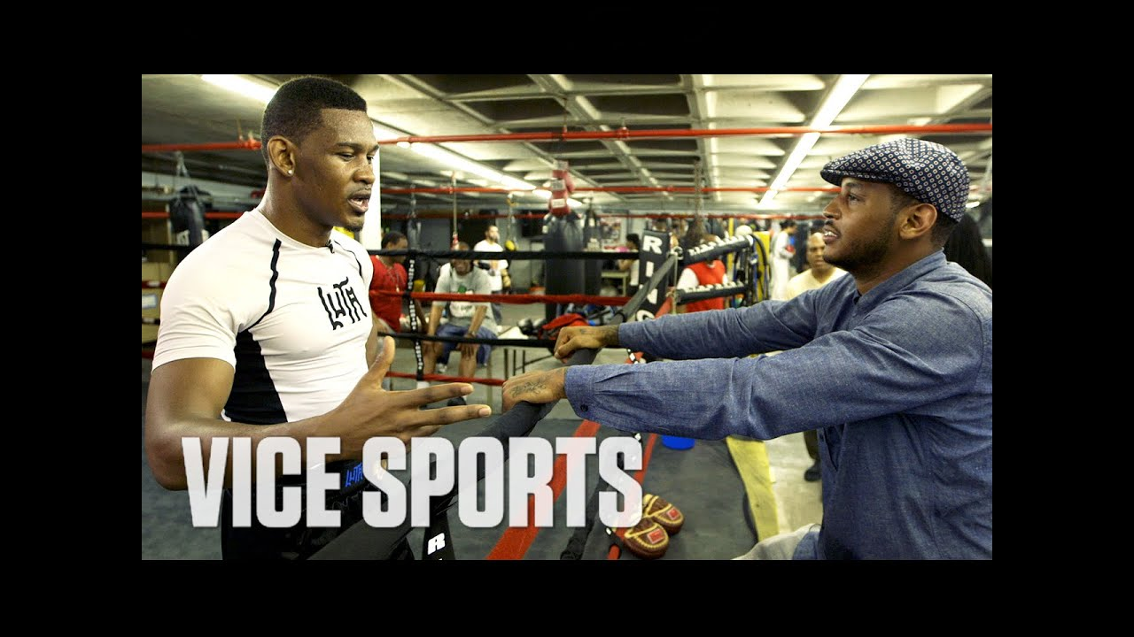 Carmelo Talks to Danny Jacobs about His Fight outside the Ring: Vice Sports Meets
