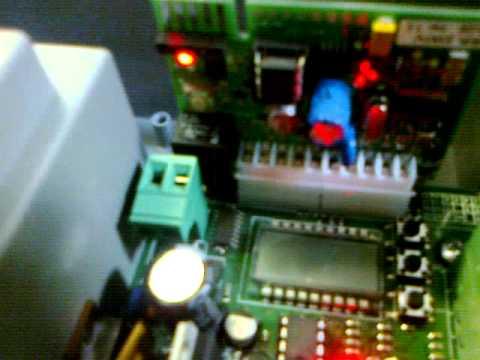 faac 455d control board manual