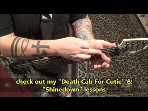 The Gaslight Anthem - 45 - Guitar Lesson by Mike Gross