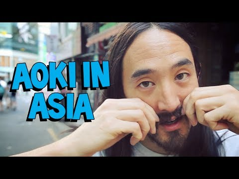 Steve Aoki In Asia ft. Devon Aoki, GTRONIC, and Stereo Heroes  On the Road w Steve Aoki 104