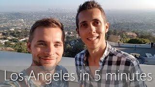 Los Angeles in 5 minutes | Travel Guide | Must-sees for your city tour