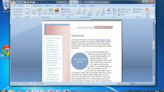 Online Video Tutorial - ECDL Module 3 Tutorial 3 Microsoft Word