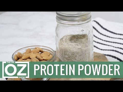 How to make protein shake less powdery