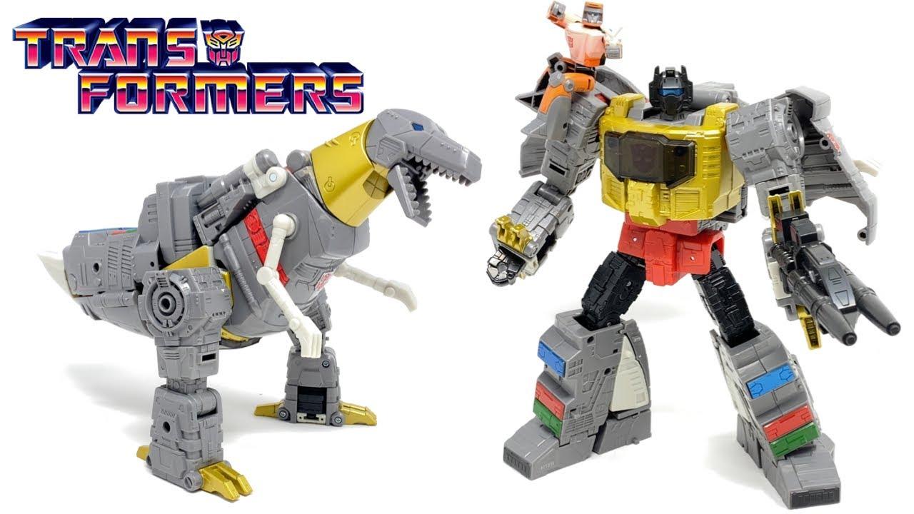 Download Transformers Studio Series 86 Leader Class GRIMLOCK & Autobot Wheelie Review