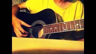 Vùng trời bình yên - guitar cover