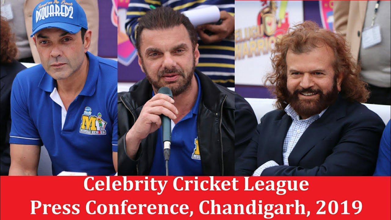Celebritycricketleague Pressconference Singonline