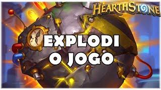 HEARTHSTONE - EXPLODI O JOGO! (STANDARD BOMB SHUDDERWOCK SHAMAN)