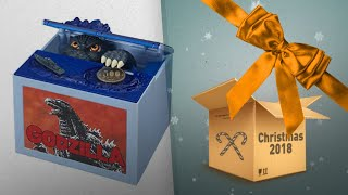 Perfect Godzilla Toys Kids Gift Ideas / Countdown To Christmas 2018 | Christmas Gift Guide