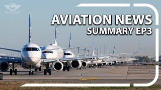 Aviation News Summary: Last 727 Flight | Bird on Plane | Ep 3