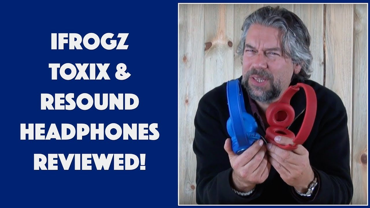 522f6a1b01f iFrogz Toxix and Resound Wireless Headphones -- REVIEWED! - YouTube