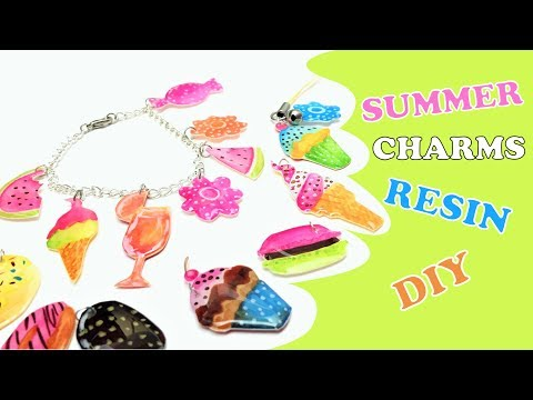 Resin Charms- DIY