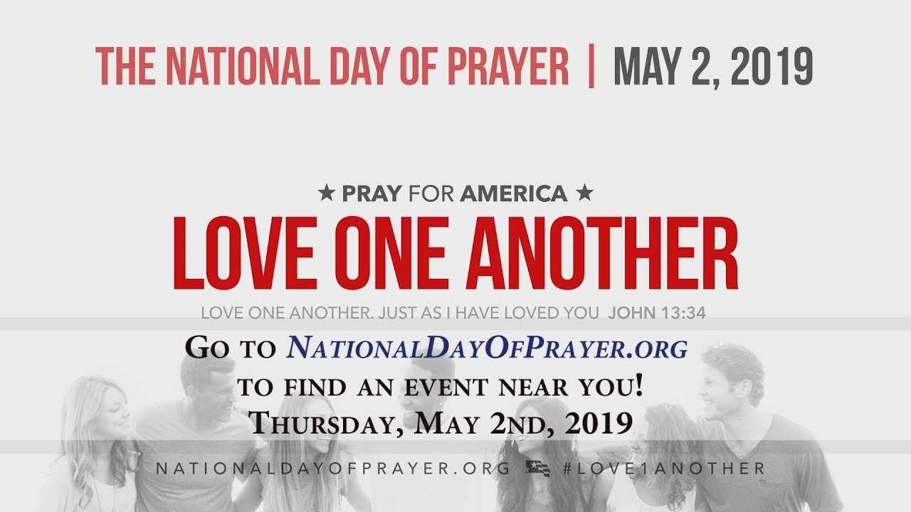 Today is National Day of Prayer 2019! Somebody Put In A Good
