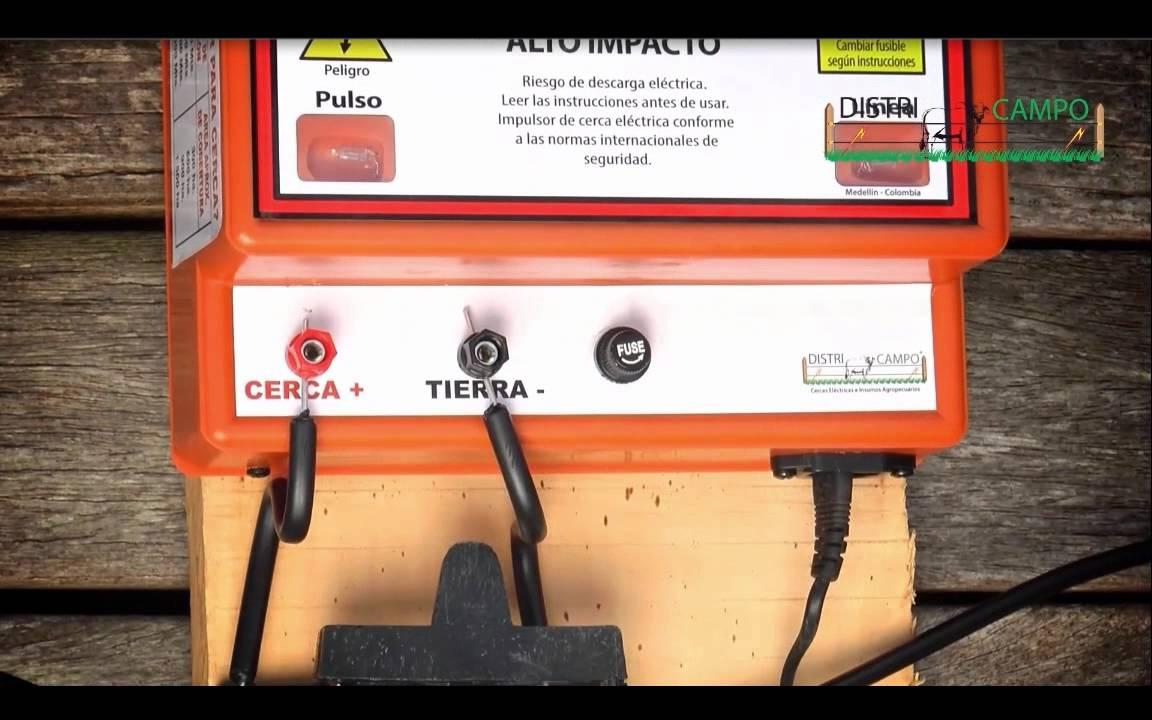 INSTALACION DE CERCA ELECTRICA DISTRICAMPO ELECTRIC FENCE ... - photo#47