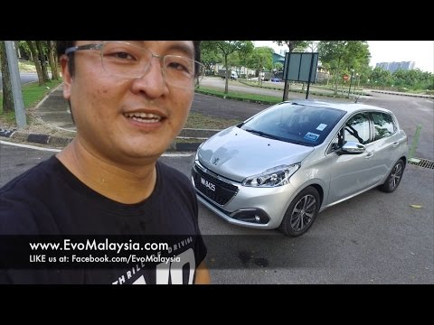 2017 Peugeot 208 Pure Tech 1.2 Turbo Full In Depth Review in Evo Malaysia