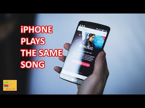 How to stop songs repeating on iphone 8