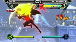 T.T.F. UMvC3 Ranbat 1.1- Grand Finals Gualn (L) vs. ioG | Uncle Matt (W)