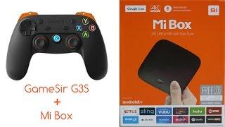 Connecting GameSir G3S Gamepad with Mi Box
