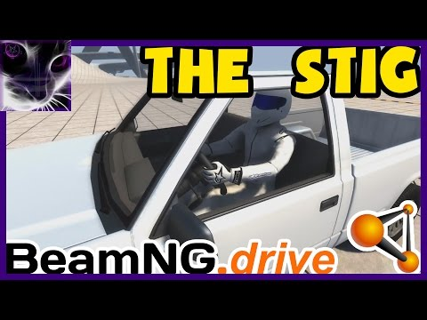 BeamNG - The Stig CRASH TEST DUMMY In Truck