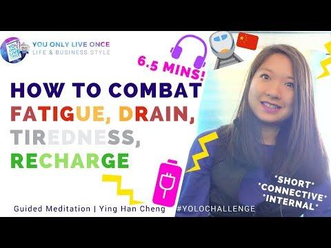 @400kph Combat fatigue, drain, tiredness, get energy & recharge your battery (Shanghai Meglev Train)