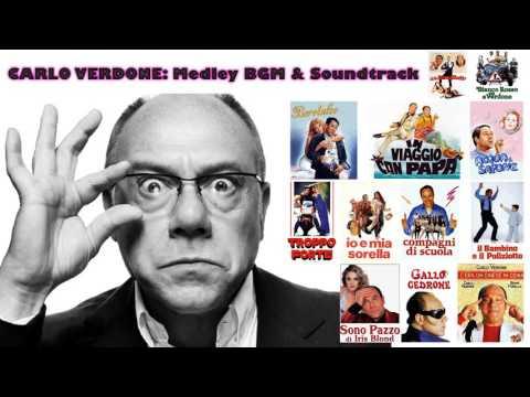 CARLO VERDONE: Medley BGM & Soundtrack (HQ)