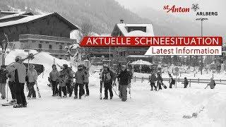 Aktuelle Schneesituation in  St. Anton am Arlberg - 10.01.2019