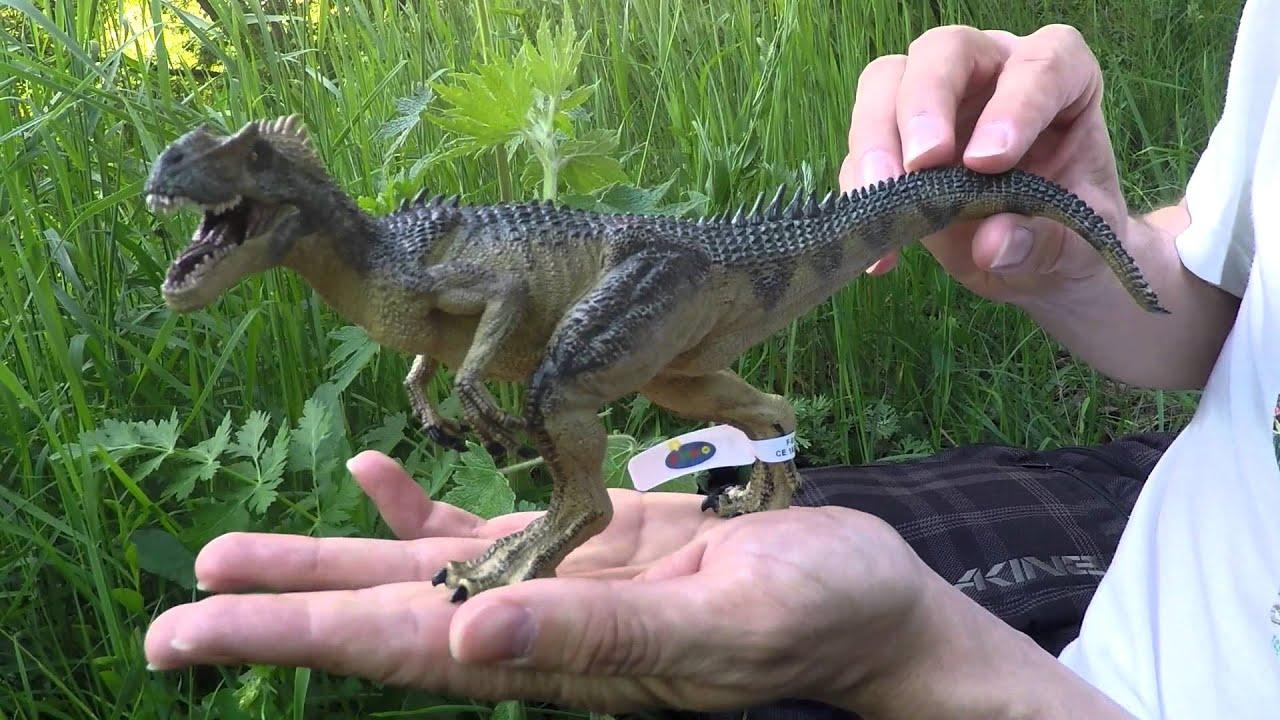 Динозавры PAPO Крупные хищники. V/T - YouTube