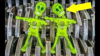 Shredding Wind Up Toys 3! Dancing Skeletons Shredded!