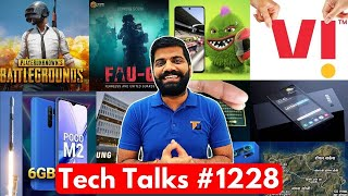 Tech Talks #1228 - FAUG PUBG Copy?, PUBG Ban Bad News, Poco X3 Lite, Transparent Samsung, Vi India