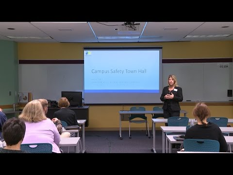 Campus Safety Town Hall: May 2, 2017