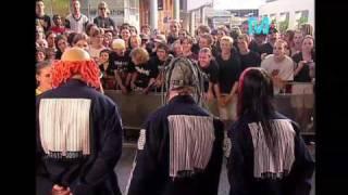 Slipknot address a studio audience, takes on Limp Bizkit and demand...