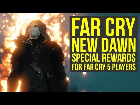 Far Cry New Dawn Rewards For Far Cry 5 Players REVEALED, New gameplay & More! (Farcry new dawn)