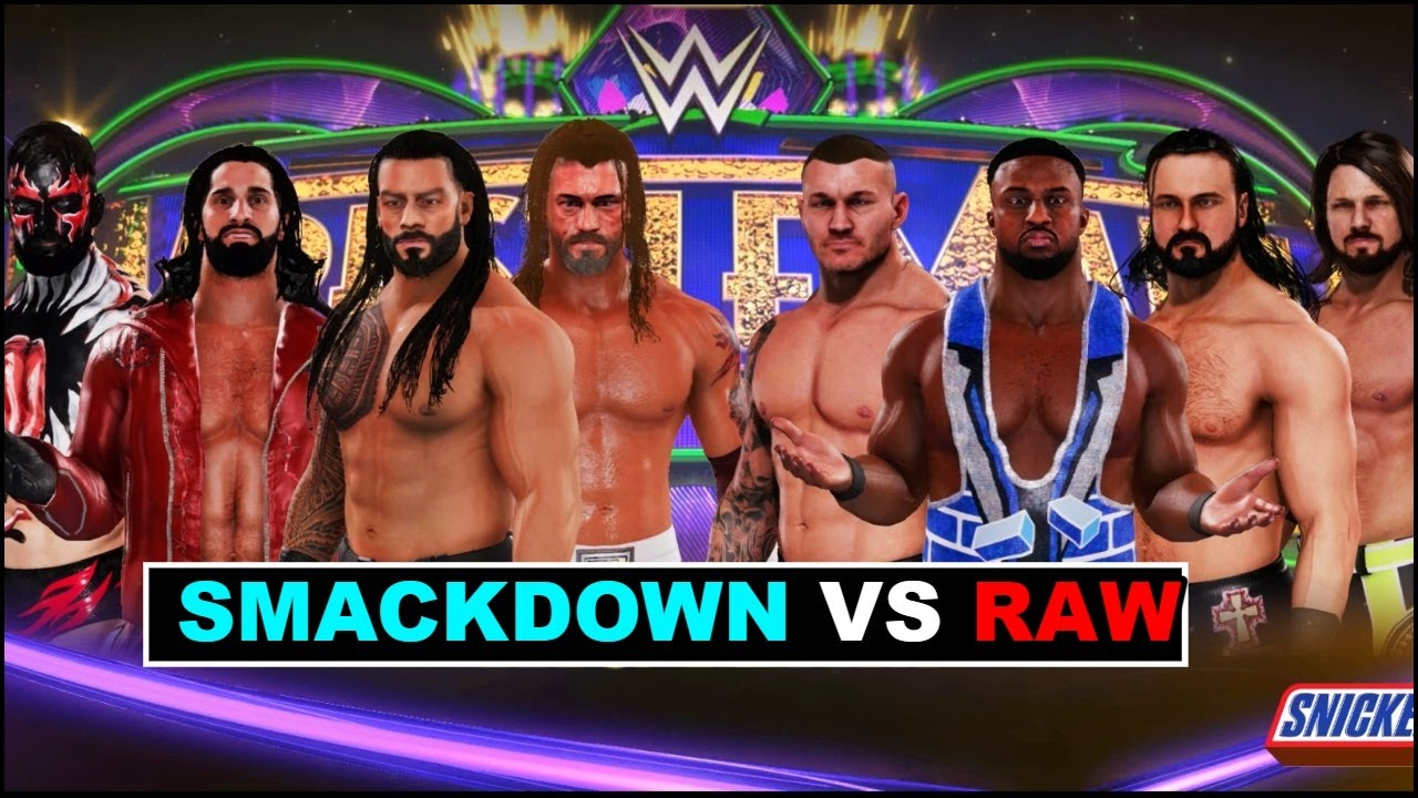 WWE 2K20 'Smackdown VS Raw' Gameplay   Which BRAND Will WIN ?