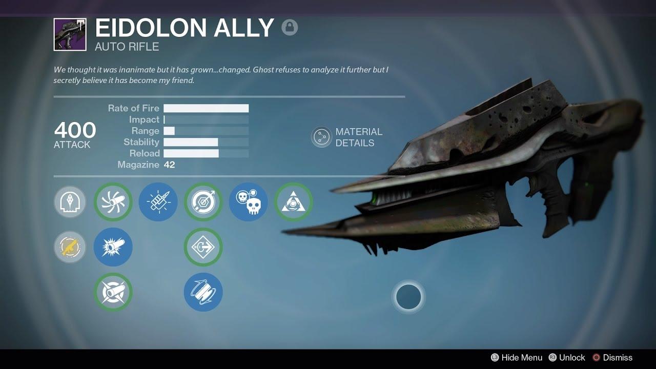 Destiny Eidolon Ally Crucible Gameplay Youtube