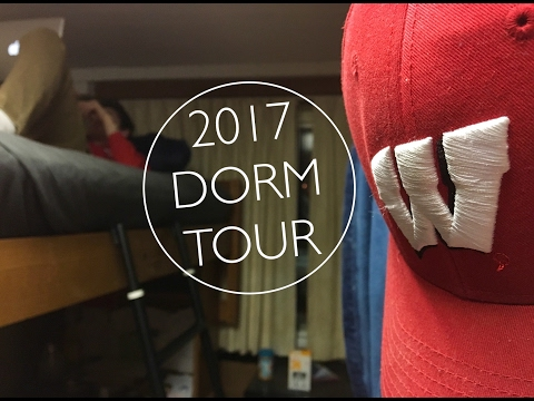 College Dorm Tour 2017 || UW-Madison